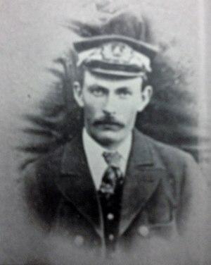 SS Ellan Vannin (1883) - Captain James Teare.