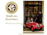 Car for children bmw 328 blanc chateau france.jpg