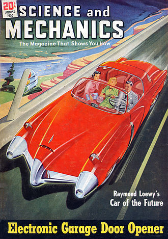 1950s American automobile culture - Auto-related magazines became common in the 1950s