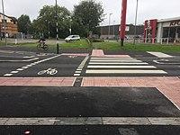 Cardiff Llys Ta-Y-Bont Cycleway - Raised Crossing 1.jpg