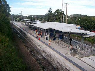 Cardiff railway station, New South Wales