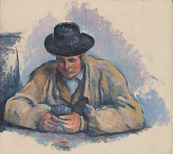 Paul Cézanne: Study for The Card Players