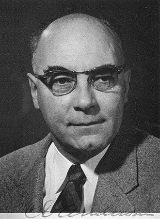 Carl David Anderson - Anderson in 1936