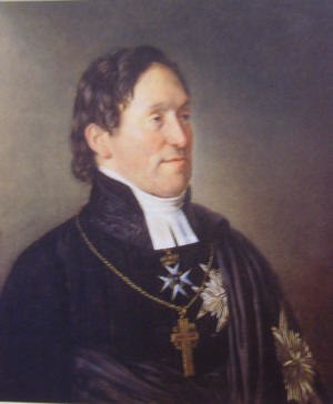 Carl Fredrik af Wingård - Carl Fredrik af Wingård as Archbishop of the Church of Sweden