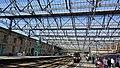 Carlisle railway station & renewed canopy, Cumbria, England.jpg