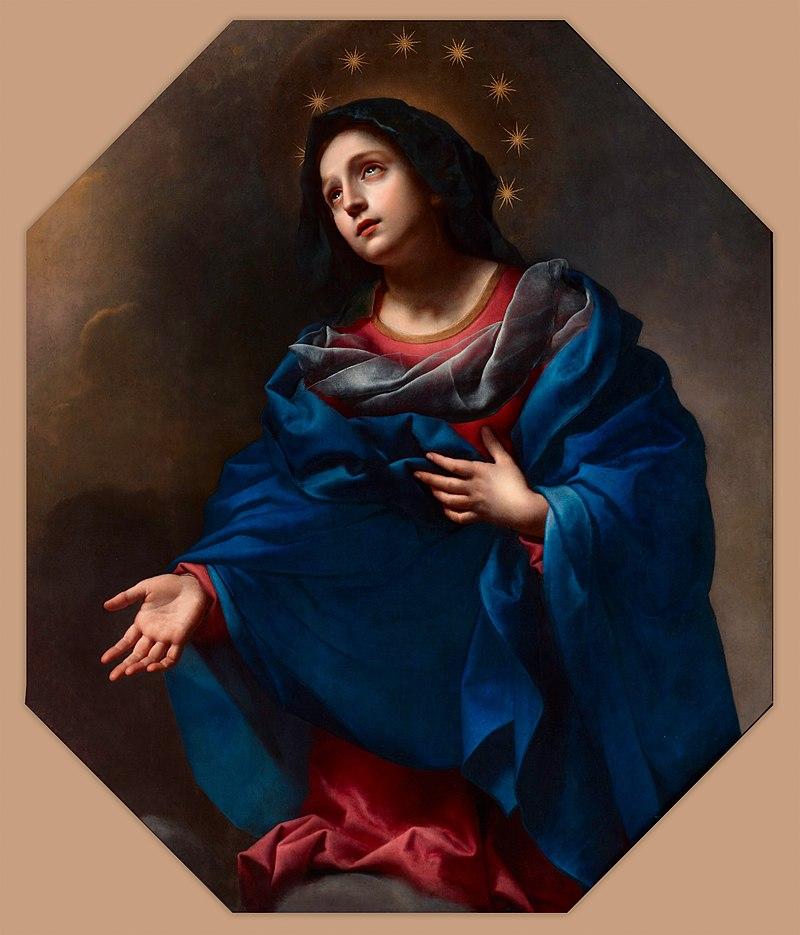 Карло Дольчи - Мадонна во славе - Google Art Project.jpg