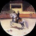 Carlos Relvas Toureando (1887) - José Malhoa (Museu dos Patudos).png