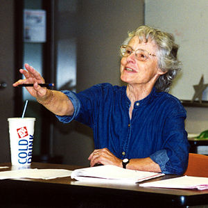 Carol Emshwiller - Teaching at Clarion West, 1998.