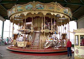 North Pier, Blackpool - Carousel on the North Pier
