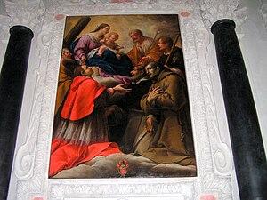 Gravesano - Painting by Carpoforo Tencalla in the Church of Ss. Pietro e Paolo