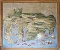 Carte du siège de Malte (Palais Farnese, Caprarola, Italie) (41648648812).jpg