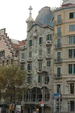 Casa Batllo by Antonio Gaudi - Barcelona