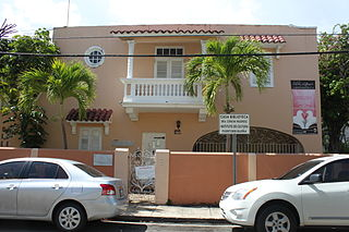 Casa Dra. Concha Melendez Ramirez historic house museum and library in San Juan, Puerto Rico