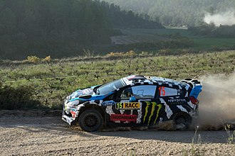 Ken Block - Participation in 2014 Rally Catalunya