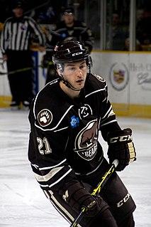 Casey Wellman American ice hockey player