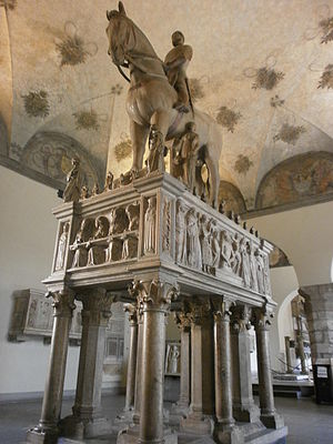 Museo d'Arte Antica - Monument to Bernabò Visconti, 14th century