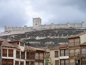 Castilian nationalism - The Peñafiel Castle.