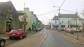 Castlerea Town in Connacht, Ireland