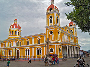 Our Lady of the Assumption Cathedral, Granada - Image: Catedral de Granada, Nicaragua