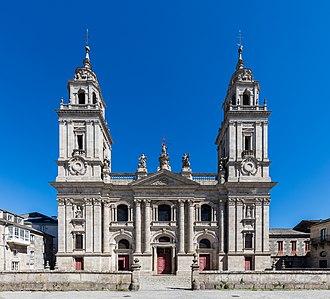 Lugo Cathedral - Image: Catedral de Santa María, Lugo, España, 2015 09 19, DD 06