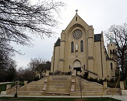 Cathedral Church of Saint Patrick (Charlotte, North Carolina) - exterior.JPG