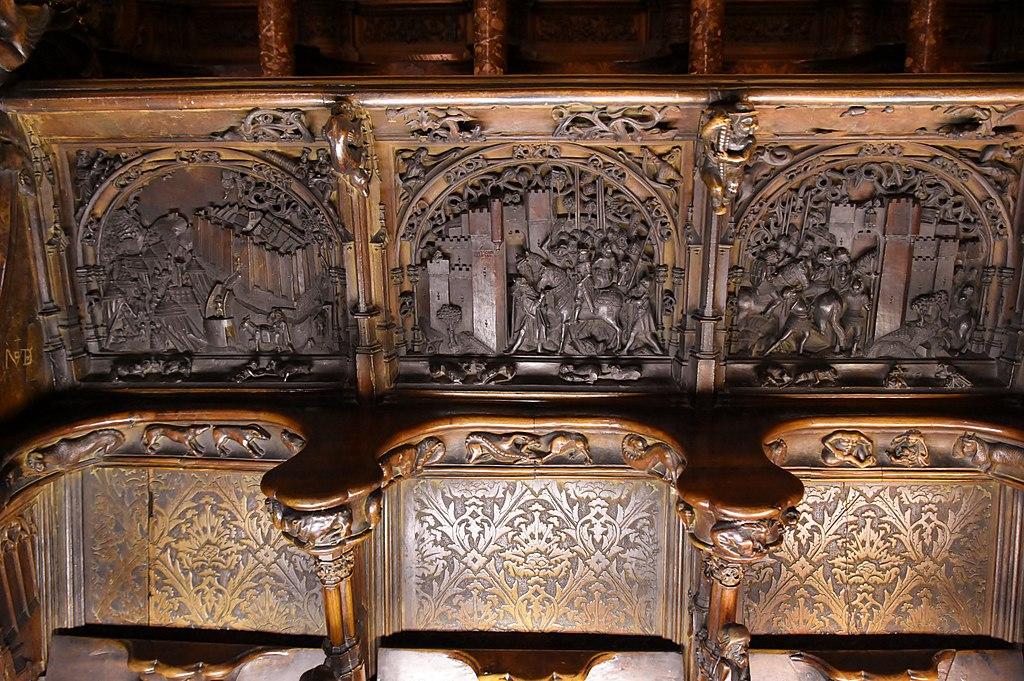 Cathedral of Toledo, choir (7) (29143139483).jpg