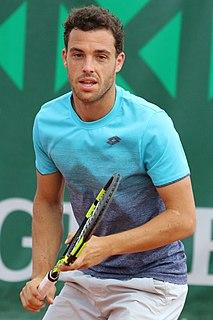 Marco Cecchinato Italian tennis player
