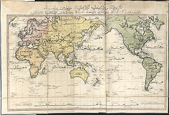 Names of Istanbul - Image: Cedid Atlas (World) 1803