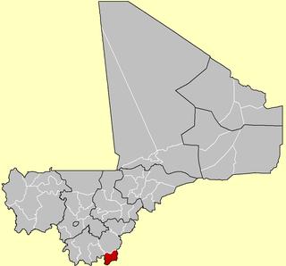 Kadiolo Cercle Cercle in Sikasso Region, Mali