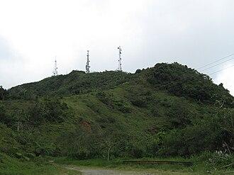 Cordillera Central (Puerto Rico) - Cerro de Punta in Ponce, the highest peak in the Cordillera Central