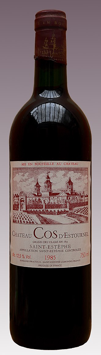 Château Cos d'Estournel - Grand Vin Label