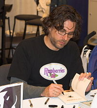 Wonder Boys author Michael Chabon at a book signing in 2006.