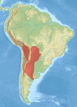 Chaetophractus vellerosus distribution map.png