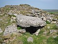 Chambered tomb on top of Chapel Carn Brea - geograph.org.uk - 801126.jpg