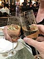 Champagne at High Tea, Savoy Hotel, London.jpg