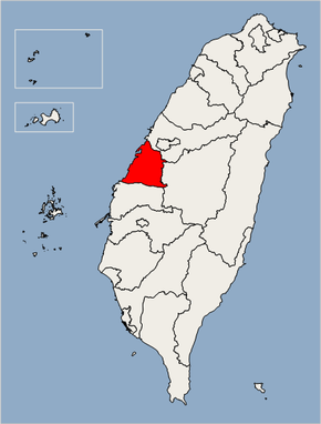 Changhua County Location Map.png