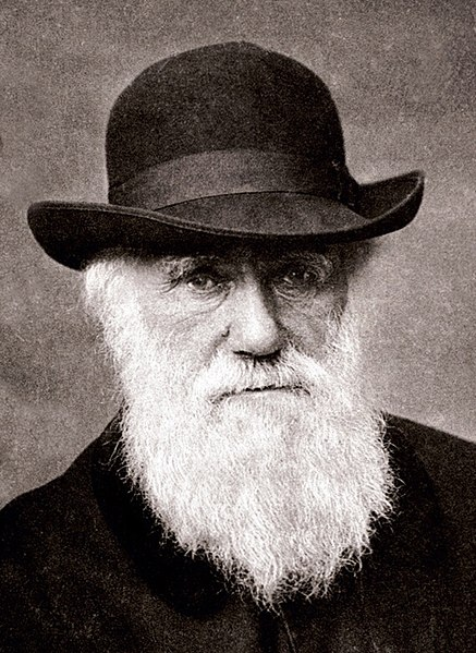 Charles Darwin. Image courtesy Wikimedia Commons.