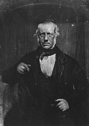 Charles de Thierry - A photograph of Charles de Thierry, probably taken after he had returned to Auckland in 1853