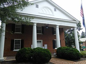 National Register of Historic Places listings in Charlotte County, Virginia - Image: Charlotte County Courthouse