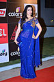 Charmy Kaur at CCL 4 Launch.jpg