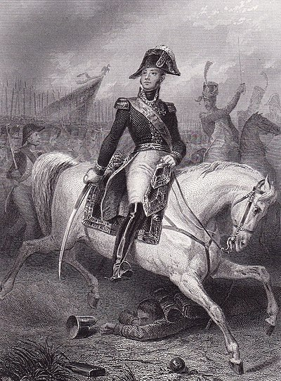 Serving throughout the French Revolutionary and Napoleonic Wars, MacDonald led major formations in the 1809 campaign against Austria, in Spain (1810-1811), Russia (1812), Germany (1813), and in France (1814). Charpentier-Jacques MacDonald.jpg