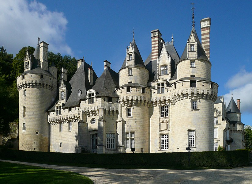 Château d'Ussé, north-eastern aspect