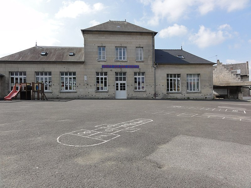 Chaudun (Aisne) école