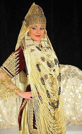 1bc36fc5d541a فستان الزفاف التلمساني - ويكيبيديا، الموسوعة الحرة