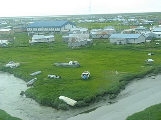 Chefornak, Alaska - Image: Chefornak (9703826823)