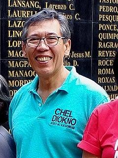 Chel Diokno Filipino lawyer