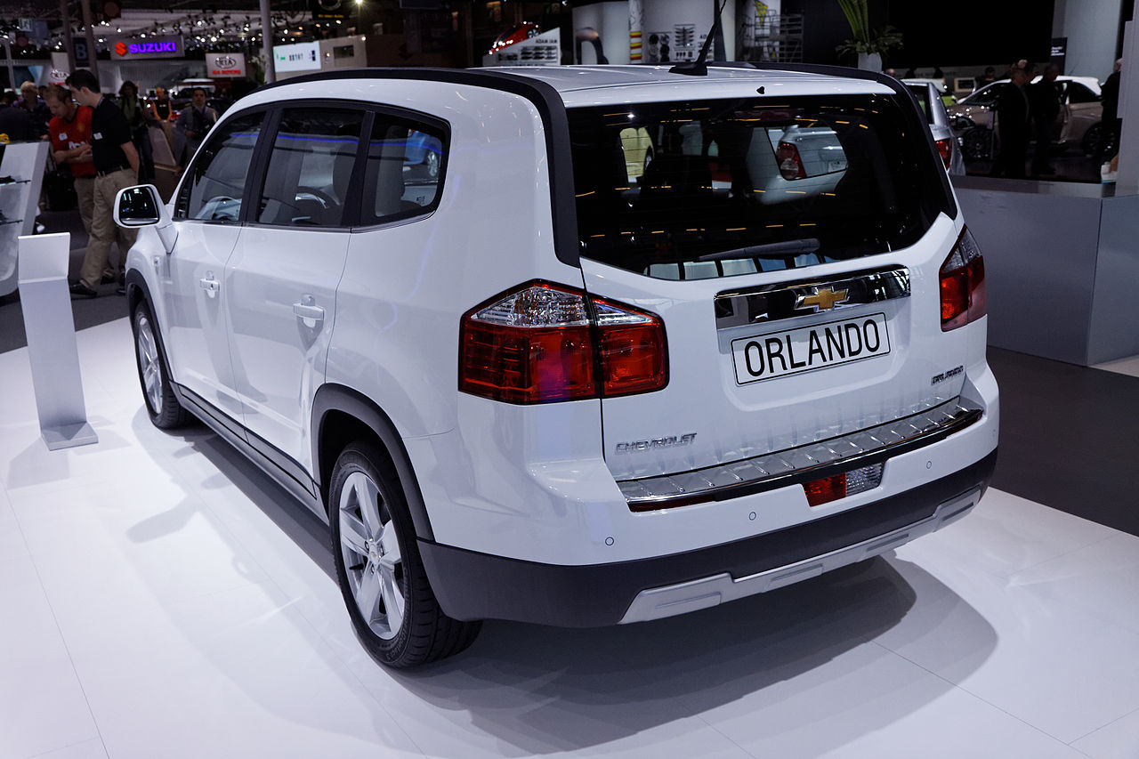 file chevrolet orlando mondial de l 39 automobile de paris 2012 wikimedia commons. Black Bedroom Furniture Sets. Home Design Ideas