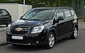 Chevrolet Orlando LTZ 1.8 – Frontansicht, 16. April 2011, Hilden.jpg