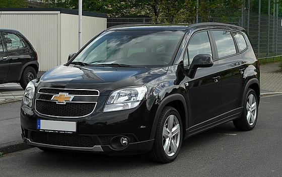 Chevrolet Orlando Wikiwand