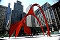 "Chicago (ILL) Alexander Calder, ""Flamingo"", 1974. Acier. (4826658258).jpg"
